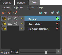 animation layers