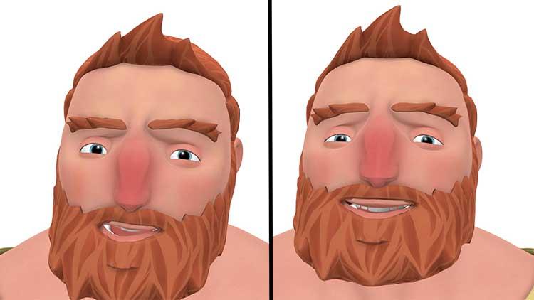 headtilt animacja dialogu